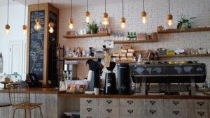 コーヒーショップ写真